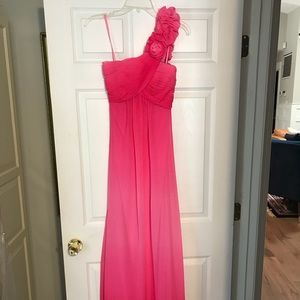 Formal pink size 2 Caché Gown